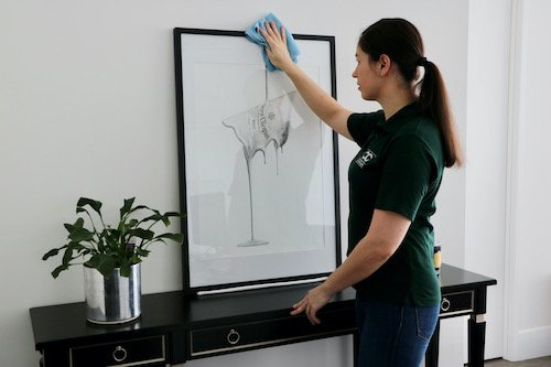 clean to concierge residential cleaning